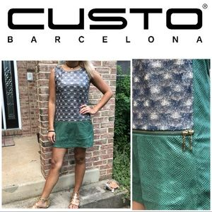Custo Barcelona SZ.2 Sleeveless Patterned Dress